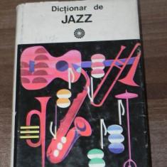 DICTIONAR DE JAZZ - Mihai Berindei - Carte Arta muzicala