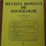 REVISTA ROMANA DE SOCIOLOGIE NR. 1-2/1998 - Carte Sociologie