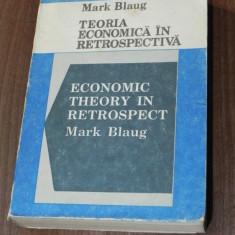 MARK BLAUG - TEORIA ECONOMICA RETROSPECTIVA