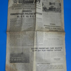 ZIARUL ROMANIA LIBERA 21 MAI 1988 - DEVOLTAREA ZONEI RURALE (01090