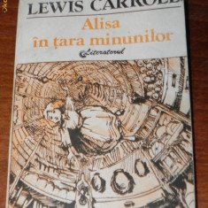 LEWIS CARROLL - ALISA IN TARA MINUNILOR - Carte educativa