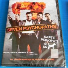 DVD FILM comedie neagra SAPTE PSIHOPATI SI UN CAINE / SEVEN PSYCHOPATHS. NOU. SIGILAT. SUBTITRARE IN LIMBA ROMANA, collin farrell, woody harrelson