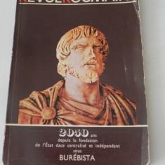 REVUE ROUMAINE 7-8/1980 - 2050 ani de la fondarea statului dac - Istorie
