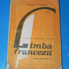 AURORA BOTEZ, MALVINA CIUREL - MANUAL LIMBA FRANCEZA CLASA A IX-A- 1994