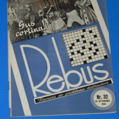 REVISTA REBUS 1958 NR 32 - NECOMPLETATA (00445