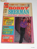 CHARLTON COMICS - BOBBY SHERMAN NR 3/1972. BENZI DESENATE