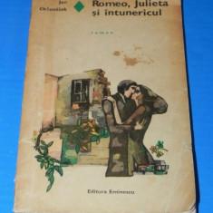 JAN OTCENASEK - ROMEO, JULIETA SI INTUNERICUL. Colectia romanul de dragoste (02353 em - Roman dragoste