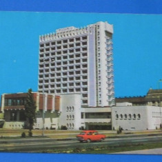 Carte postala vedere HOTEL CONTINENTAL. judetul timis. Circulata anii 1970 (tm 020) - Carte Postala Banat dupa 1918