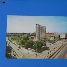 Carte postala vedere HOTEL CONTINENTAL. judetul timis. Circulata 1975 (tm 018) - Carte Postala Banat dupa 1918