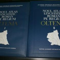NOUL ATLAS atlasul LINGVISTIC ROMAN PE REGIUNI. OLTENIA VOL 1-2 - BORIS CAZACU