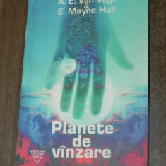 A E VAN VOGT, E MAYNE HULL - PLANETE DE VANZARE. Roman science fiction 23445 - Carte SF