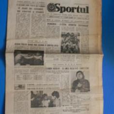 ZIARUL SPORTUL 19 MAI 1984 PREZENTARE SPORT JUDETELE BRAILA, MEHEDINTI, CLUJ (01054