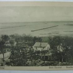 SULINA - GURA DUNAREI - FOTOGRAFUL CURTEI REGALE MARCO KLEIN BRAILA - Carte Postala Dobrogea 1904-1918, Necirculata, Fotografie