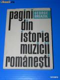 GEORGE BREAZUL - PAGINI DIN ISTORIA MUZICII ROMANESTI VOL 2, 1970