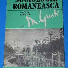 SOCIOLOGIE ROMANEASCA NR. 4/1994 - Carte Sociologie