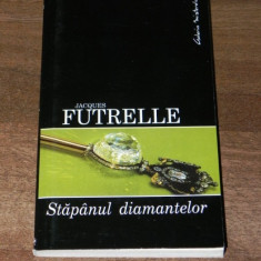 JACQUES FUTRELLE - STAPANUL DIAMANTELOR - Carte de aventura
