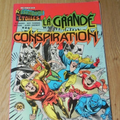 BENZI DESENATE FRANCEZA L ESCADRON DES ETOILES NR 4/1983 LA GRANDE CONSPIRATION - Reviste benzi desenate