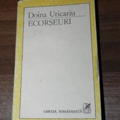 DOINA URICARIU - ECORSEURI. STRUCTURI SI VALORI ALE POEZIEI ROMANESTI MODERNE