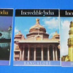 Lot 3 HARTI turistice INDIA - BANGALORE, CALCUTTA, HYDERABAD - Harta Turistica