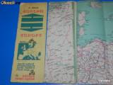 A BARSAN - HARTA SI TEXT ANEXA LA HARTA RUTIERA A EUROPEI 1981