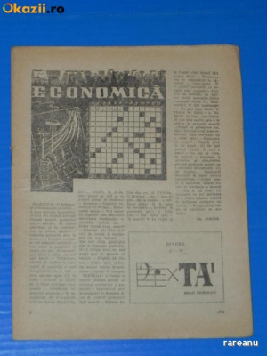 REVISTA REBUS 1957 NR 3 (00431 foto