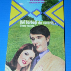 DONNA FASANO - DOI BARBATI DE CUCERIT (02286 ar - Roman dragoste