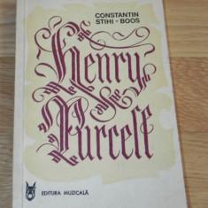 CONSTANTIN STIHI-BOOS - HENRY PURCELL - Carte Arta muzicala