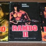 DAVID MORRELL - RAMBO - VOL 1, 2, 3 - Carte de aventura