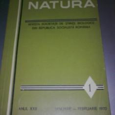 REVISTA NATURA - SOCIETATEA DE STIIINTE BILOGICE DIN ROMANIA - 28 NUMERE - Carte Biologie