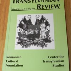 TRANSYLVANIAN REVIEW NR 1 / 1999 - Revista culturale