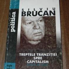 SILVIU BRUCAN - TREPTELE TRANZITIEI SPRE CAPITALISM (7465 - Carte Politica