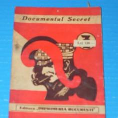 DOCUMENTUL SECRET - COLECTIA ROMANELE DE 7 LEI - Carte de aventura