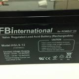 Acumulator 12V - 9 Ah VRLA plumb pentru UPS sau alarma