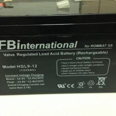 Acumulator 12V - 9 Ah VRLA plumb pentru UPS sau alarma APC