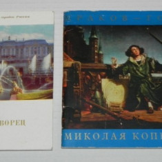 2 ghiduri URSS - RUSIA. IN LIMBA RUSA - Album Muzee