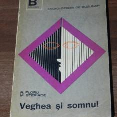 R FLORU, M STERIADE - VEGHEA SI SOMNUL - Carte Psihologie