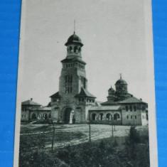 Carte postala VECHE CATEDRALA INCORONAREI REGALE ROMANE DIN ALBA IULIA INTERBELICA. necirculata Judetul ALBA (v026 - Carte Postala Transilvania dupa 1918