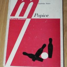 LADISLAU SZOCS - POPICE. METODICA INVATARII SI PERFECTIONARII JOCULUI. editia a 2-a revizuita - Carte sport