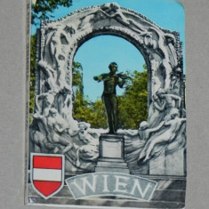 Pliant 10 ILUSTRATE / VEDERI VIENA ANII 1960 / 1970, Austria, Necirculata, Printata