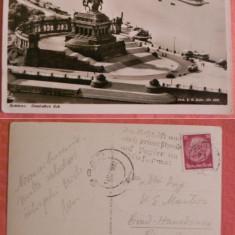 CARTE POSTALA koblenz FRANCATA DEUTSCHE REICH 15, PF 1933, rara, Germania, Circulata, Printata