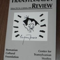 TRANSYLVANIAN REVIEW NR 3 / 1999. SPECIAL EUGEN IONESCO - Revista culturale