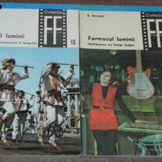 E IAROVICI - FARMECUL LUMINII vol 1-2 TEHNICA SI ARTA ILUMINATULUI IN FOTOGRAFIE - Carte Fotografie