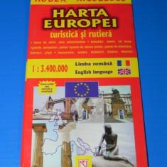 HARTA EUROPEI. EDITURA NICULESCU - Harta Turistica