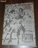 SPORTUL ILUSTRAT - nr 6/1988 - STEAUA BUCURESTI CAMPIOANA ROMANIEI. TITLUL 13