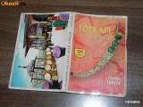 MAPA 12 carti postale topkapi ISTANBUL TURCIA. vederi. ilustrate. necirculate, Bulgaria, Necirculata, Printata