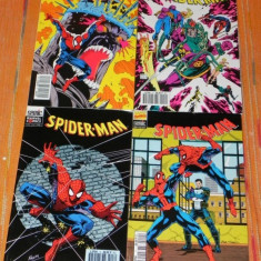 SPIDER-MAN - marvel comics 4 Reviste benzi desenate Altele franceza NR 8, 9, 10, 11