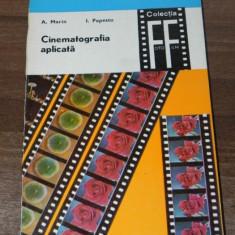 A MARIN, I POPESCU - CINEMATOGRAFIA APLICATA VOL 1-2 - Carte Fotografie