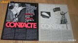 2 REVISTE PROPAGANDA - CONTACTE aparute dupa vizita lui Nicolae Ceausescu in SUA