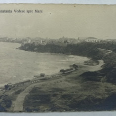 11 - CONSTANTA - VEDERE SPRE MARE - Carte Postala Dobrogea 1904-1918, Necirculata, Fotografie