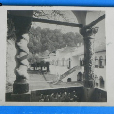 Carte postala MANASTIREA HOREZU - VEDERE SPRE ARHONDARIC. interbelica NECIRCULATA editura comisiunii monumentelor istorice ING STELIAN PETRESCU (v044 - Carte Postala Oltenia dupa 1918